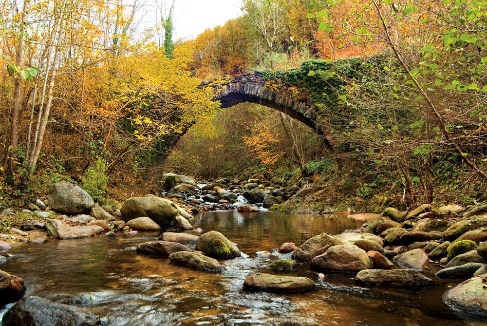 ponte sul torrente Piova a Sant'Anna